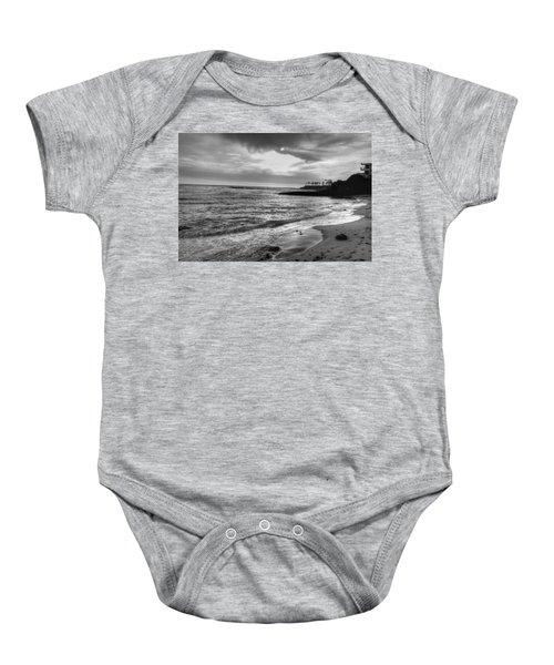Laguna Beach Sunset Baby Onesie