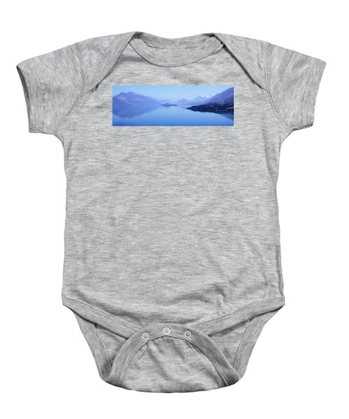 Lake Glenorchy New Zealand Baby Onesie