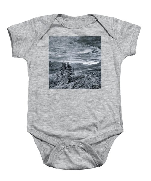 Land Shapes 18 Baby Onesie