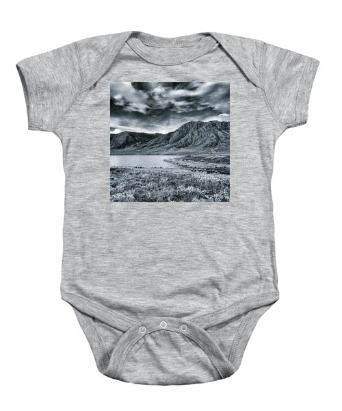 Land Shapes 33 Baby Onesie