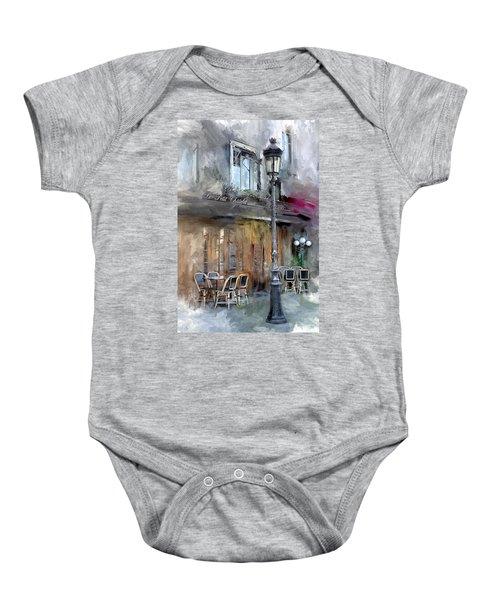Le Petit Paris Baby Onesie