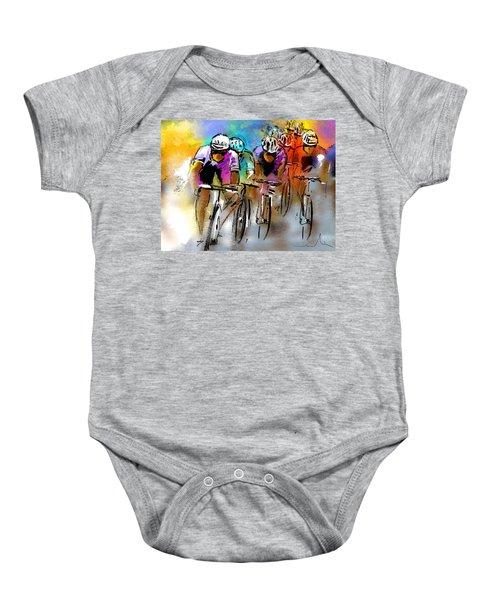 Le Tour De France 03 Baby Onesie