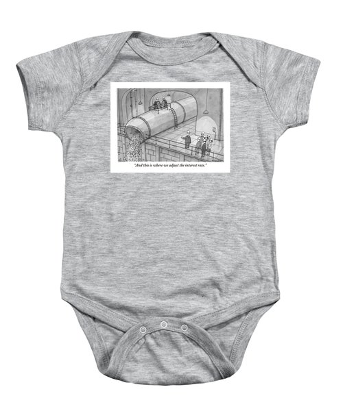 Leading A Federal Reserve Tour Group Baby Onesie