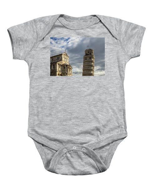 Leaning Tower And Duomo Di Pisa Baby Onesie