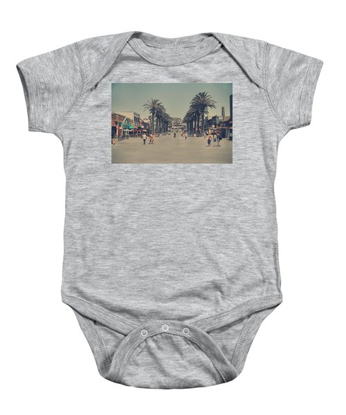 Life In A Beach Town Baby Onesie