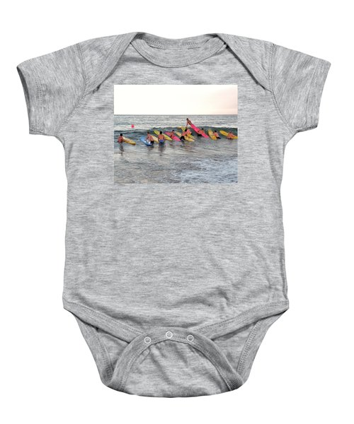Lifeguard Competition Baby Onesie