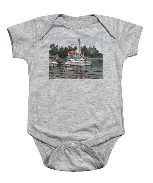 Light House In Mississauga On Baby Onesie