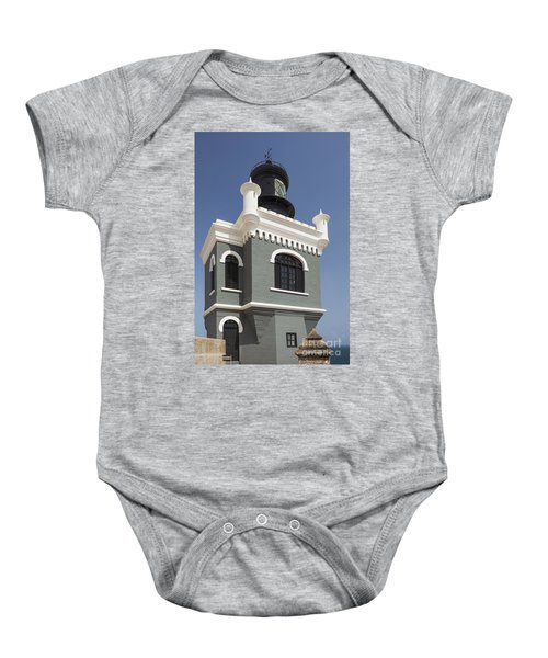 Lighthouse At El Morro Fortress Baby Onesie