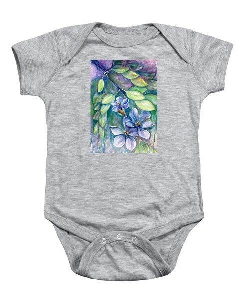 Lignum Vitae Baby Onesie
