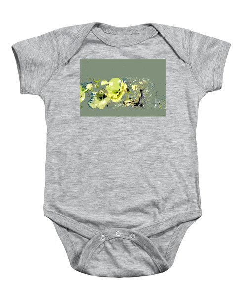 Lily Pads - Deconstructed Baby Onesie