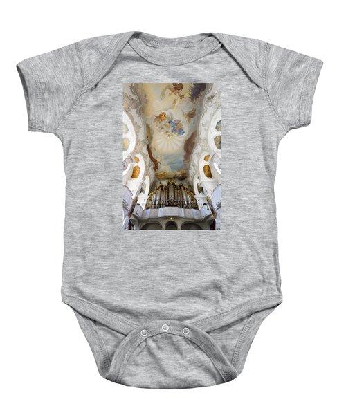 Lindau Organ And Ceiling Baby Onesie