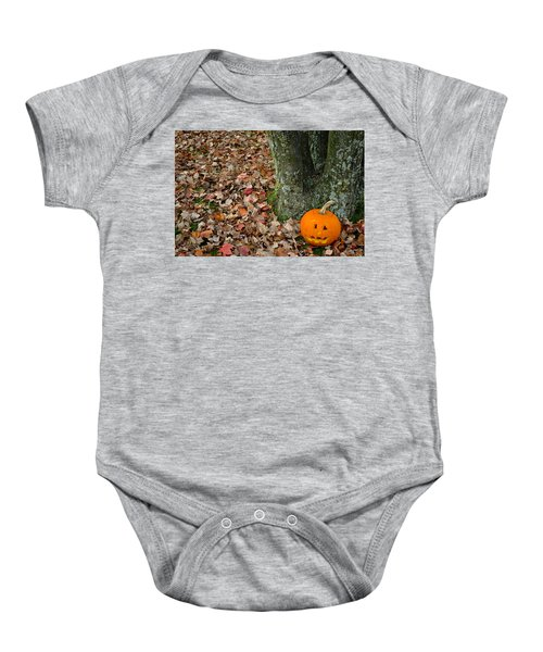 Lonely Pumpkin Baby Onesie