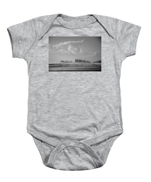 Long Beach Landscape  Baby Onesie