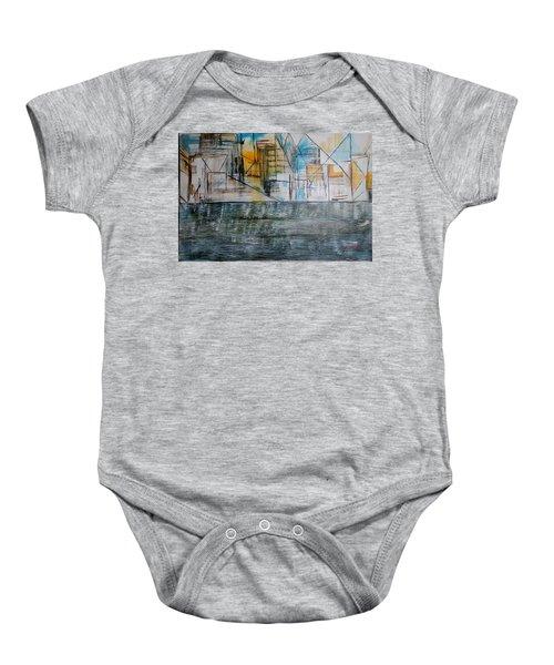Long Island City Pov3 Baby Onesie