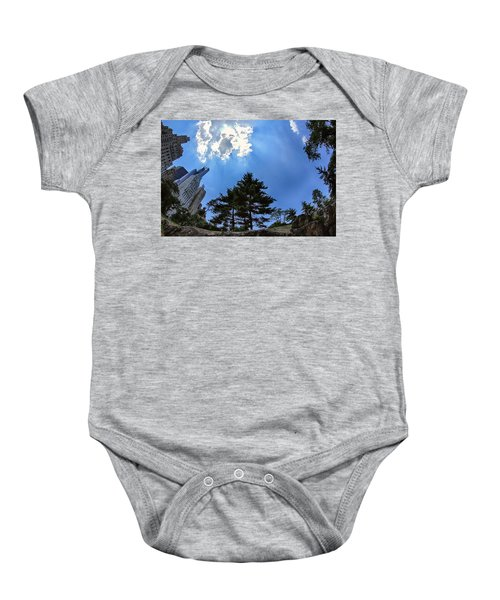 Long Way Up Baby Onesie