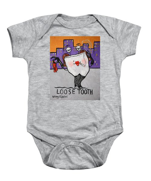 Loose Tooth Baby Onesie