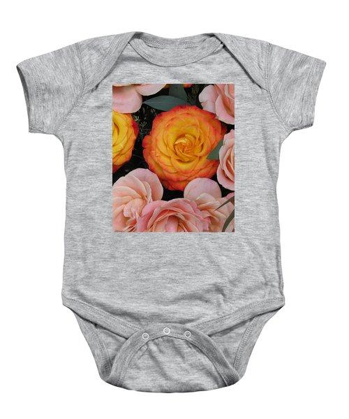 Love Bouquet Baby Onesie