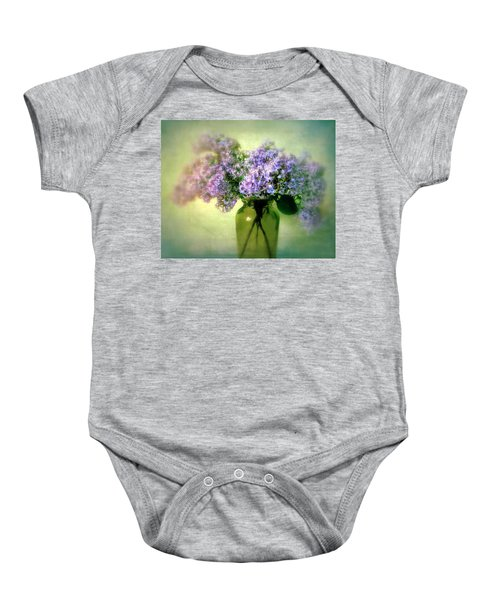 Lovely Lilac  Baby Onesie