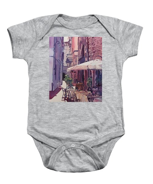 Lucca Cafe Baby Onesie