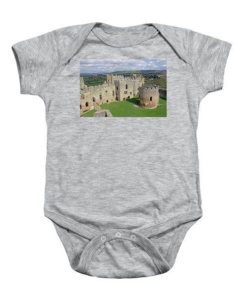 Ludlow Castle Chapel And Great Hall Baby Onesie