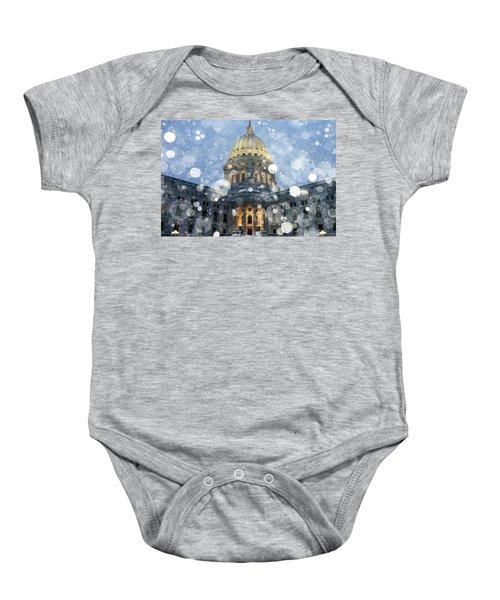 Madisonian Winter Baby Onesie