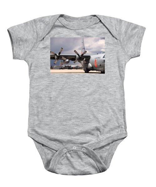 Maffs C-130s At Cheyenne Baby Onesie