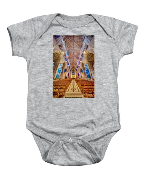 Magnificent Cathedral II Baby Onesie