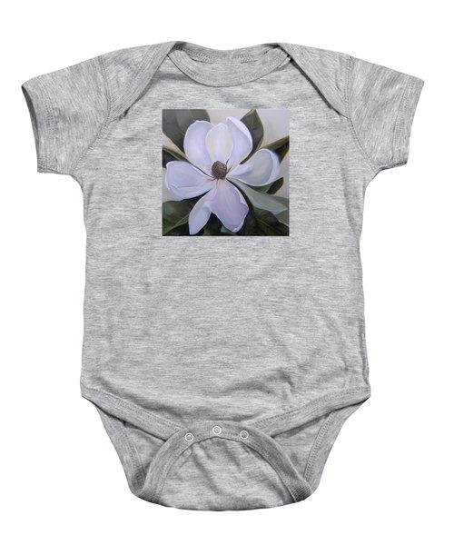 Magnolia Square Baby Onesie