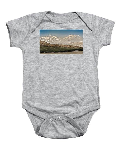 Majestic Mount Mckinley Baby Onesie