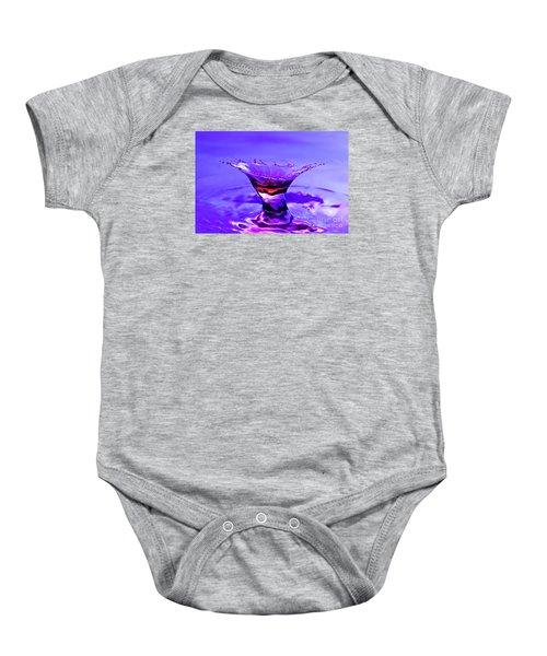 Martini Splash Baby Onesie