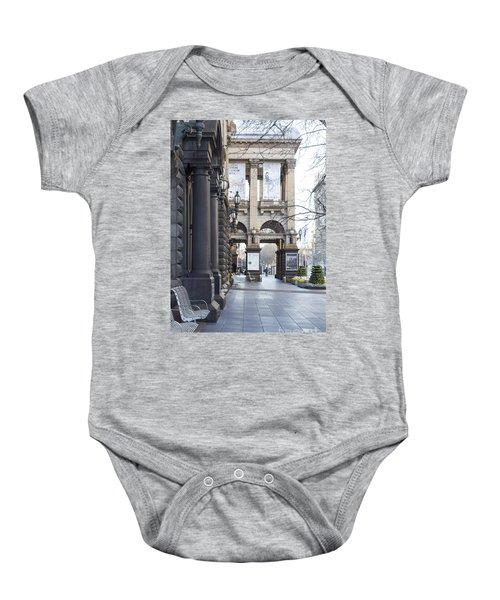 Marvellous Melbourne 3 Baby Onesie by Linda Lees
