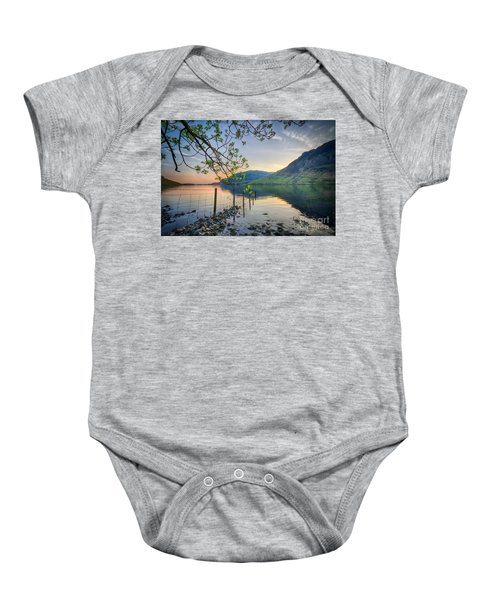 Melancholy Of Sunset Baby Onesie