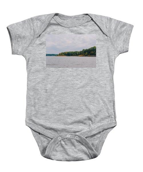Men Fishing On Barren River Lake Baby Onesie