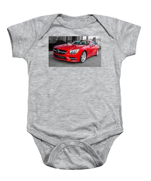 Mercedes Sl550   7d01718 Baby Onesie