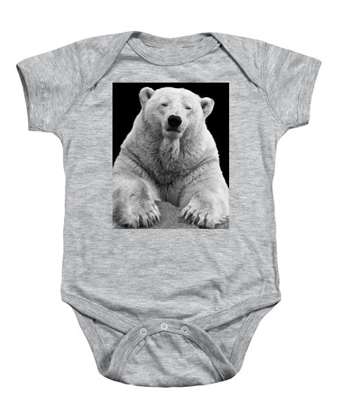 Mercedes The Polar Bear Baby Onesie