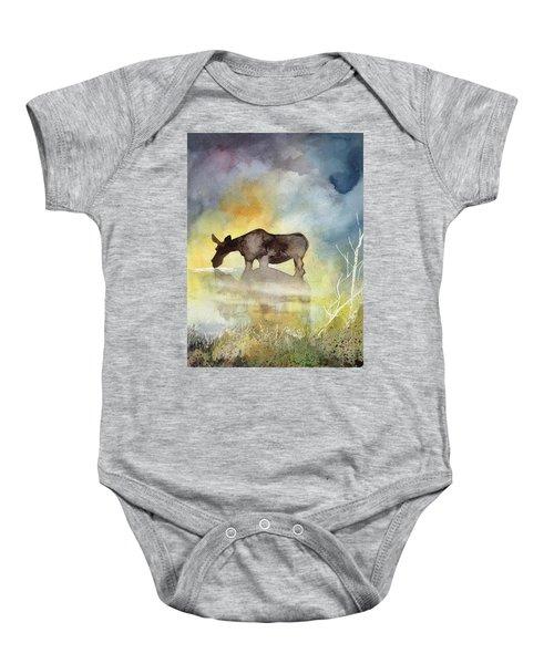 Misty Moose Minerva Baby Onesie