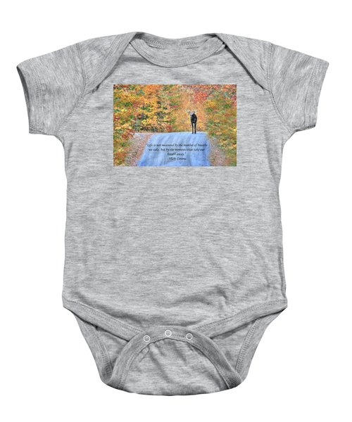 Moments That Take Our Breath Away Baby Onesie