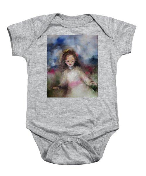 Mommy's Little Girl Baby Onesie