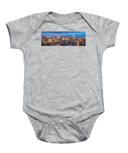 Montreal Panorama Baby Onesie