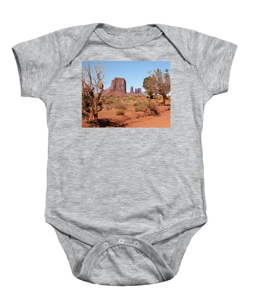 Monument Valley Baby Onesie