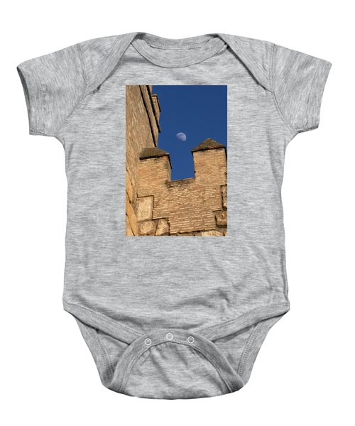 Moon Over Alcazar Baby Onesie