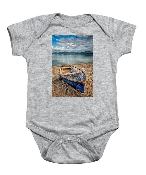 Morfa Nefyn Boat Baby Onesie