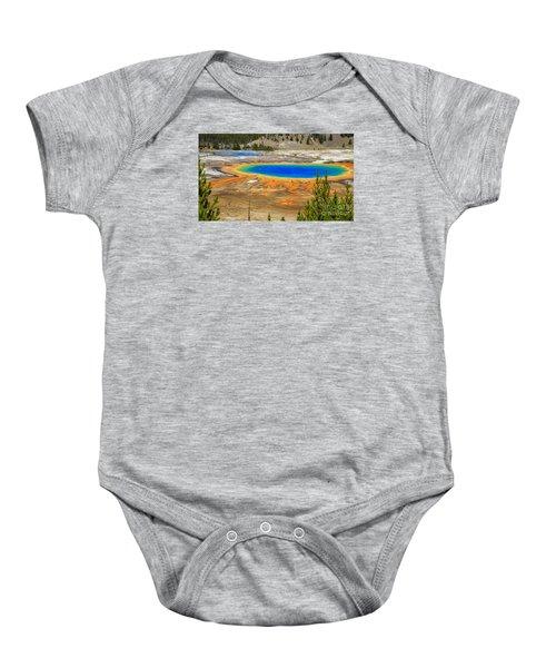 Grand Prismatic Geyser Yellowstone National Park Baby Onesie