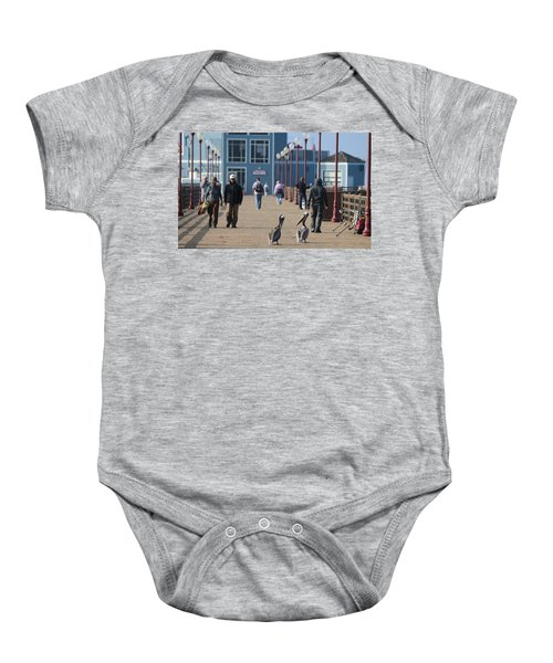 Morning Stroll  Baby Onesie