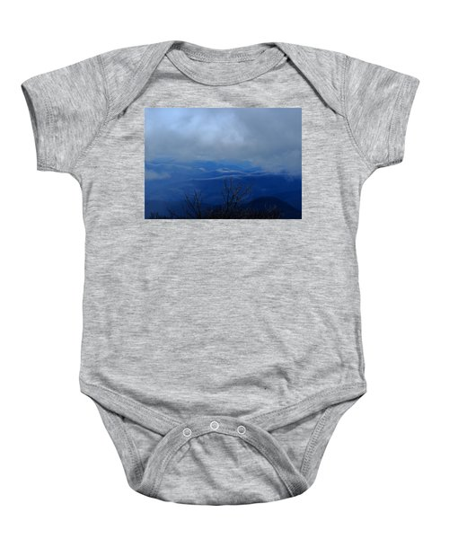 Mountains And Ice Baby Onesie