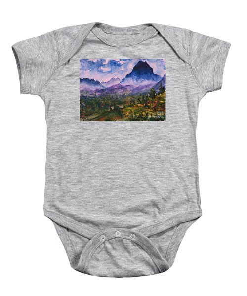 Mountains Of Pyrenees  Baby Onesie