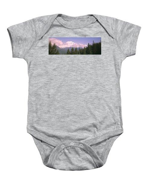 Mt Ranier Mt Ranier National Park Wa Baby Onesie
