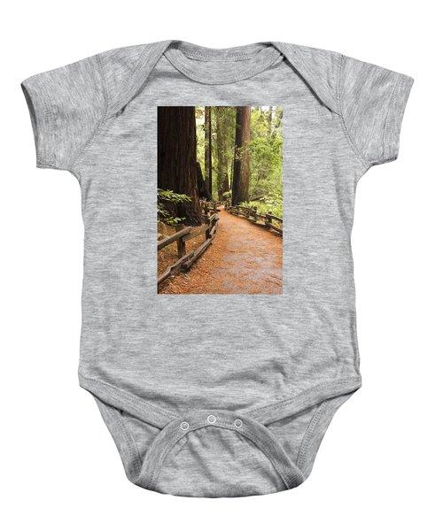 Muir Woods Trail Baby Onesie
