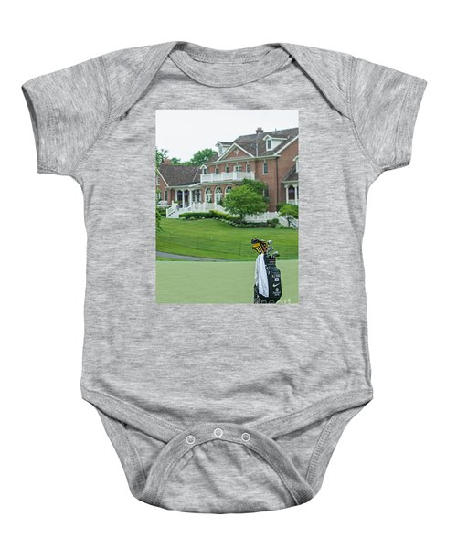 D12w-289 Golf Bag At Muirfield Village Baby Onesie