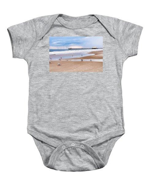 Myrtle Beach - Rainy Day Baby Onesie